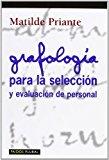 Portada de GRAFOLOGIA PARA LA SELECCION Y EVALUACION DE PERSONAL