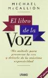 Portada de EL LIBRO DE LA VOZ