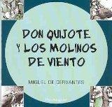 Portada de DON QUIJOTE Y LOS MOLINOS DE VIENTO