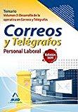 Portada de PERSONAL LABORAL DE CORREOS Y TELEGRAFOS. TEMARIO. VOLUMEN II: DESARROLLO DE LA OPERATIVA EN CORREOS Y TELEGRAFOS