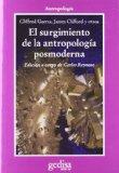 Portada de EL SURGIMIENTO DE LA ANTROPOLOGIA POSMODERNA