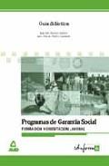 Portada de FORMACION Y ORIENTACION LABORAL: GUIA DIDACTICA