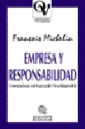 Portada de EMPRESA Y RESPONSABILIDAD: CONVERSACIONES CON IVAN LEVAÏ E YVES MESAROVITCH
