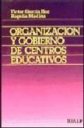 Portada de ORGANIZACION Y GOBIERNO DE CENTROS EDUCATIVOS