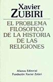 Portada de EL PROBLEMA FILOSOFICO DE LA HISTORIA DE LAS RELIGIONES