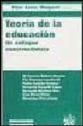 Portada de TEORIA DE LA EDUCACION: UN ENFOQUE CONSTRUCTIVISTA