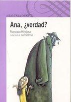 Portada de ANA, ¿VERDAD? (EBOOK)