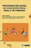 Portada de PROGRAMACION ANUAL DE EDUCACION FISICA PARA 2º DE PRIMARIA