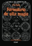 Portada de FORMULARIO DE ALTA MAGIA