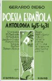 Portada de POESIA ESPAÑOLA: ANTOLOGIA 1915-1931