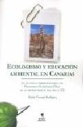 Portada de ECOLOGISMO: EDUCACION AMBIENTAL EN CANARIAS