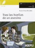 Portada de TRAS LAS HUELLAS DE UN ASESINO. CON CD AUDIO (LEGGERE)