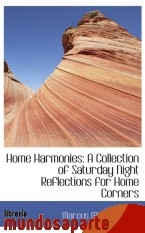 Portada de HOME HARMONIES: A COLLECTION OF SATURDAY NIGHT REFLECTIONS FOR HOME CORNERS
