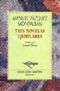 Portada de TRES NOVELAS EJEMPLARES