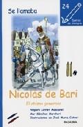 Portada de SE LLAMABA NICOLAS DE BARI: EL OBISPO GENEROSO