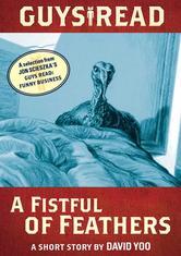 Portada de GUYS READ: A FISTFUL OF FEATHERS