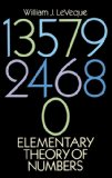 Portada de ELEMENTARY THEORY OF NUMBERS (DOVER BOOKS ON ADVANCED MATHEMATICS)
