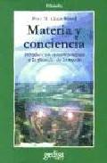 Portada de MATERIA Y CONCIENCIA: INTRODUCCION CONTEMPORANEA A LA FILOSOFIA DE LA MENTE