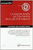 Portada de LA ADJUDICACION DE CONTRATOS EN EL SECTOR PUBLICO