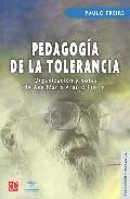 Portada de PEDAGOGIA DE LA TOLERANCIA
