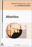 Portada de ALBAÑILES: TEMARIO GENERAL Y TEST