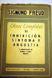 Portada de OBRAS COMPLETAS XI: INHIBICION SINTOMA Y AGUSTIA, LA NEUROPSICOSIS DE DEFENSA Y OTROS ENSAYOS