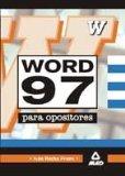 Portada de WORD 97 PARA OPOSITORES