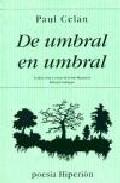 Portada de DE UMBRAL EN UMBRAL: POEMAS