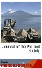 Portada de JOURNAL OF THE PALI TEXT SOCIETY