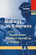 Portada de AUXILIARES DE ENFERMERIA FUNDACIONES PUBLICAS GALICIA