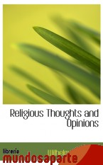 Portada de RELIGIOUS THOUGHTS AND OPINIONS