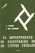 Portada de EL DEPARTAMENTO DE ORIENTACION EN UN CENTRO ESCOLAR