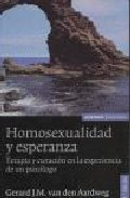 Portada de HOMOSEXUALIDAD Y ESPERANZA