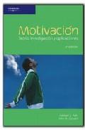 Portada de MOTIVACION: TEORIA, INVESTIGACION Y APLICACIONES