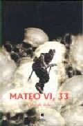 Portada de MATEO VI, 33