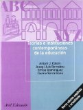 Portada de TEORIAS E INSTITUCIONES CONTEMPORANEAS DE LA EDUCACION