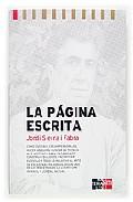 Portada de LA PAGINA ESCRITA. MANUAL DE ESCRITURA