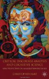 Portada de CRITICAL DISCOURSE ANALYSIS AND COGNITIVE SCIENCE: NEW PERSPECTIVES ON IMMIGRATION DISCOURSE