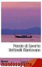 Portada de POESIE DI SAVERIO BETTINELLI MANTOVANO
