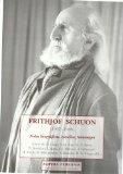 Portada de FRITHJOF SCHUON : NOTAS BIOGRAFICAS, ESTUDIOS, HOMENAJ ES