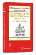 Portada de PATRIMONIO DE LAS ADMINISTRACIONES PUBLICAS