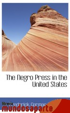 Portada de THE NEGRO PRESS IN THE UNITED STATES