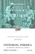 Portada de ARTE POETICA; ARTE RETORICA