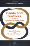 Portada de KNOTS AND SURFACES: A GUIDE TO DISCOVERING MATHEMATICS (MATHEMATICAL WORLD)