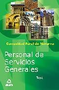 Portada de PERSONAL DE SERVICIOS GENERALES DE LA ADMINISTRACION DE LA COMUNIDAD FORAL DE NAVARRA. TEST
