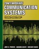 Portada de CONTEMPORARY COMMUNICATION SYSTEMS USING MATLAB