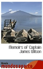 Portada de MEMOIRS OF CAPTAIN JAMES WILSON