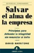 Portada de SALVAR EL ALMA DE LA EMPRESA