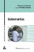 Portada de GOBERNANTAS: TEMARIO GENERAL