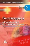 Portada de FISIOTERAPEUTA DEL SERVICIO DE SALUD DE LA COMUNIDAD DE MADRID: TEMARIO